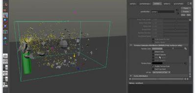 Bridge destruction maya dynamics tutorial xshatter fx simulation.