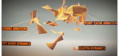 Easily Create Flying Papers With Cloth in C4D - Lesterbanks
