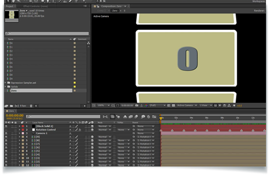 Creating a Rotating Counter in After Effects - Lesterbanks