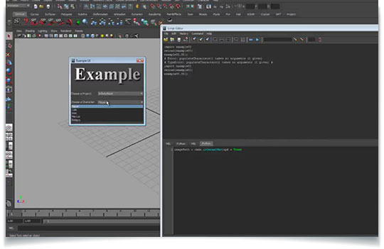 Building Maya Interfaces with Python - Lesterbanks