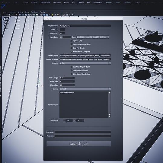 ZYNC-Maya-rendering-dialog