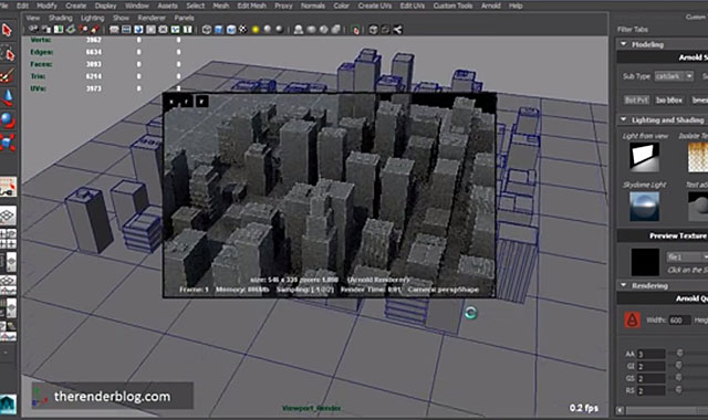 Maya | Create an Interactive Viewport Rendering Tool Using Native