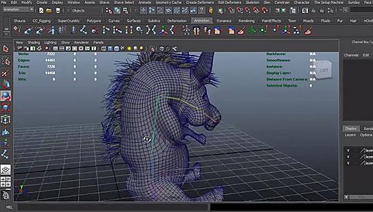 zbrush using fibermesh for creating nhair systems in maya rh lesterbanks com maya 2013 user manual pdf Maya 2013 Crack