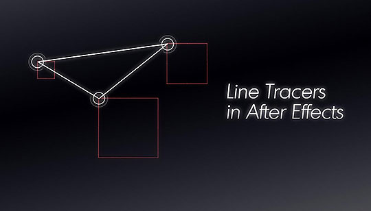 After Effects | Creating Line Tracers Between Two Nulls