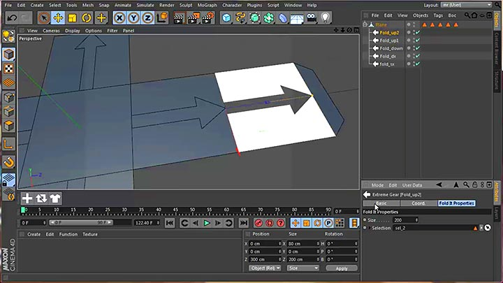 Unfold and Animate Polygonal Objects Easily With The Fold It