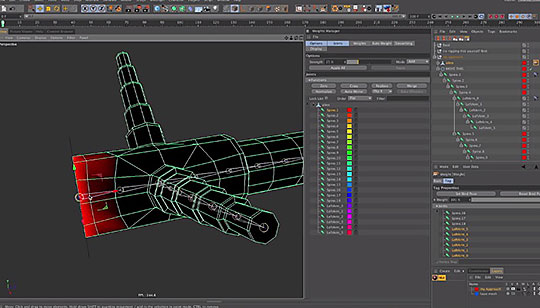 Cinema 4D | Adding Joints and Weights to an Existing Rig