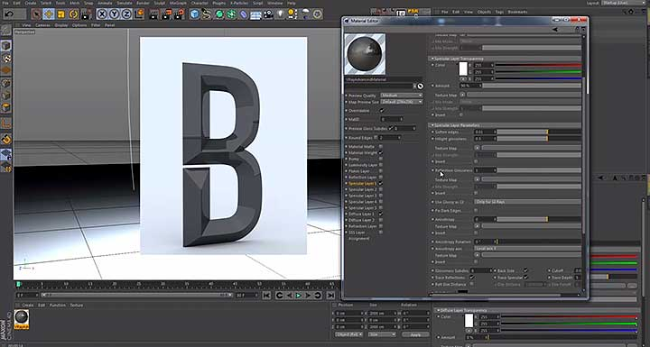 Creating Chiseled Bevels in Cinema 4D - Lesterbanks