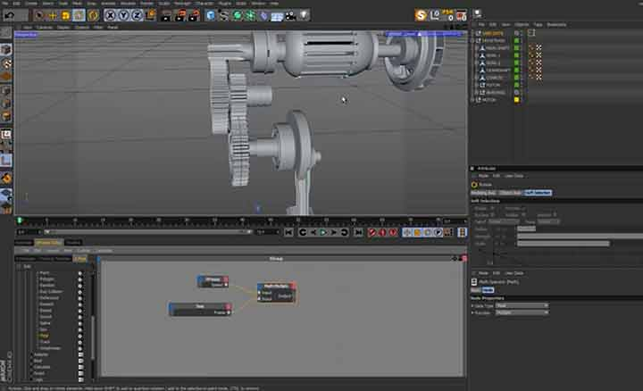 Practical Guide for Rigging Gears and Pistons in Cinema 4D