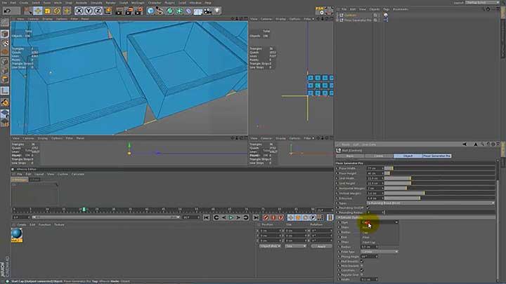 Generate Floor Tiles in Cinema 4D Easily With New Floor
