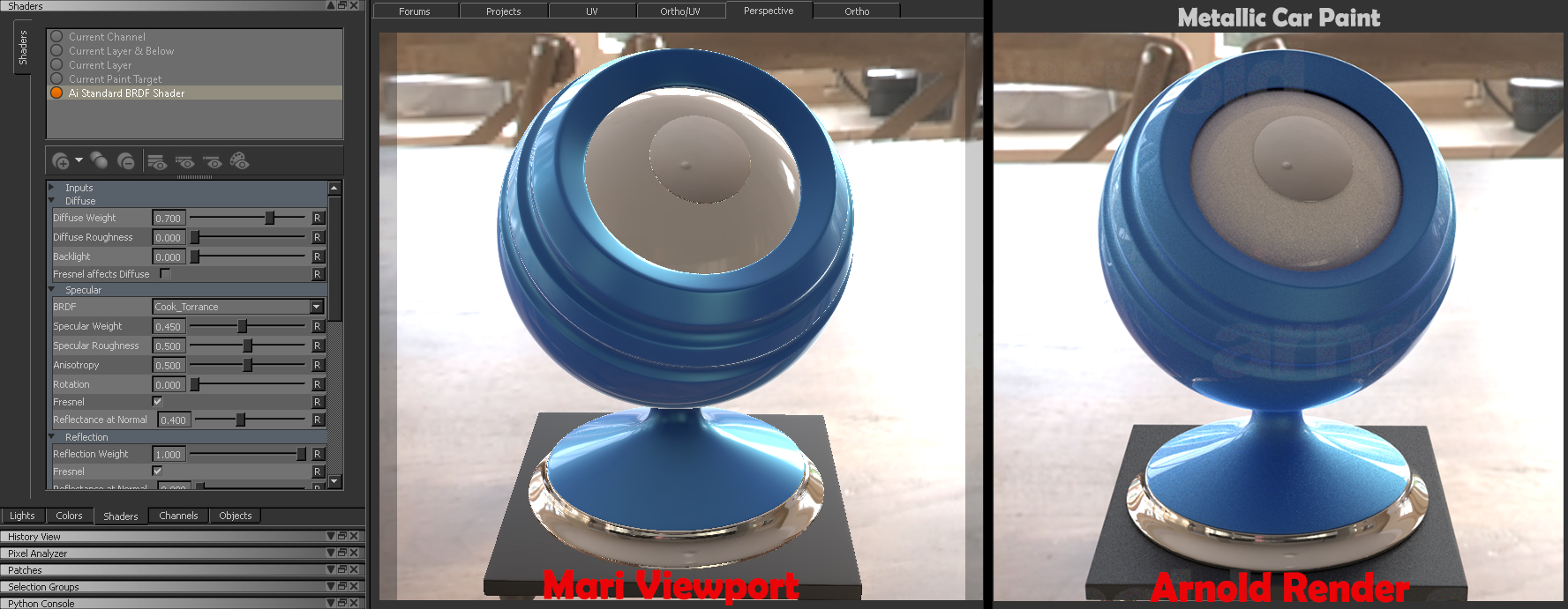 Arnold / V-Ray Shaders for Mari Nears Release - Lesterbanks