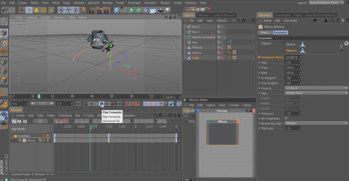 Create a Geometric Transformation With C4D Thinking
