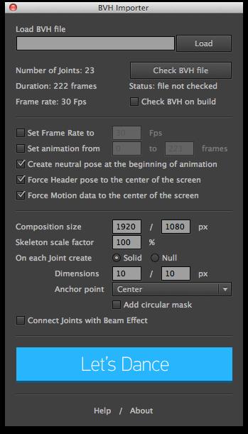 Free Bvh Files For Blender