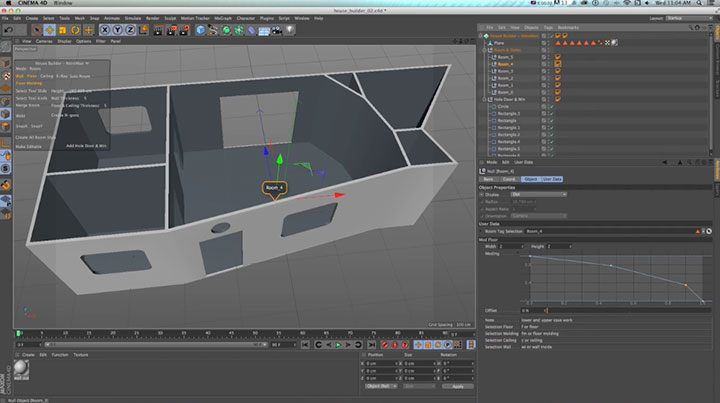 A Look at the C4D House Builder Tools in R16 - Lesterbanks