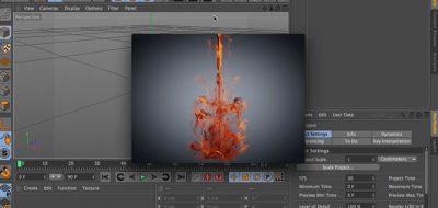 Create Fire vs Smoke With C4D TurbulenceFD - Lesterbanks