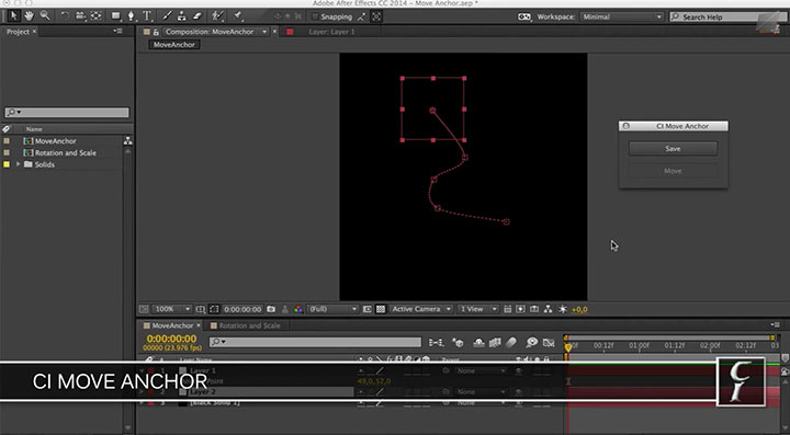 Reposition an Anchor Point in AE and Still Keep the