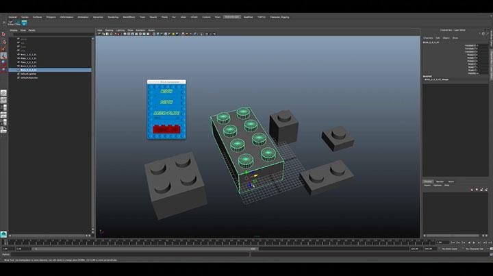 Maya Brick Generator Instantly Creates Toy Bricks of Any Length and ...