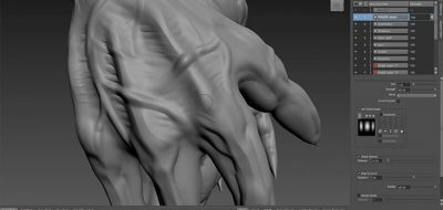 Mudbox Updates With Dynamic Tessellation, and it's