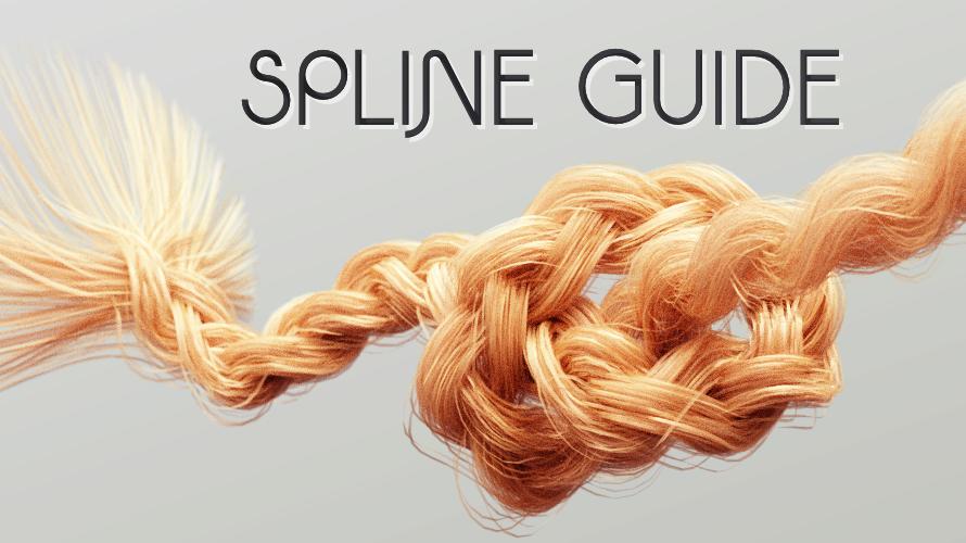 Free Spline Guide Tool Aligns Hair Along a Spline Dynamically in C4D