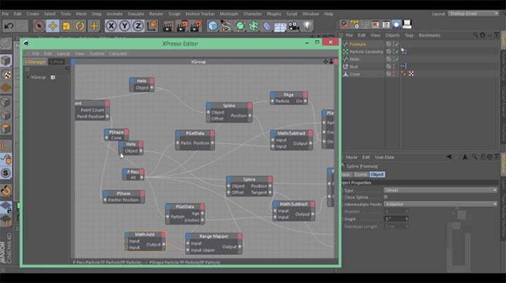 Cinema-4D-Spline-path-thinking-particles