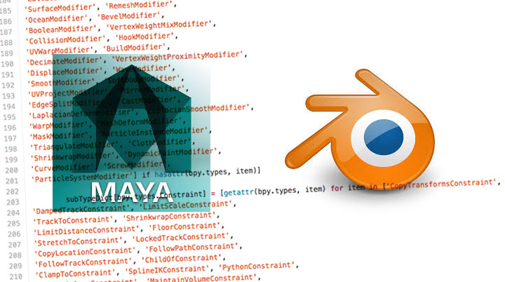 Make Maya Python Scripts Work Inside of Blender - Lesterbanks