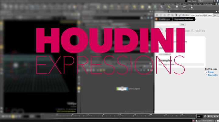 A Brief Introduction to Using Houdini Expressions and