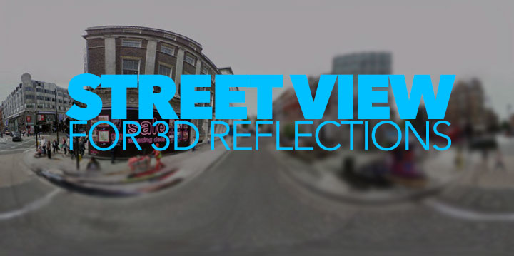 Use Street View To Create Panoramic Images For 3d Environments