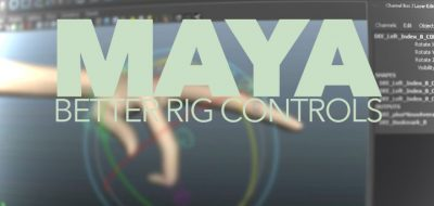 mz_ctrlCreator for Maya Provides Ease & Choices for Rigging Controls
