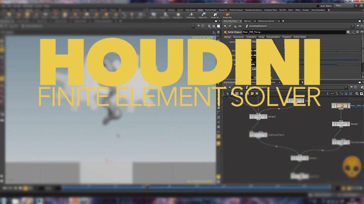 Introduction to Using Houdini's Finite Element Method