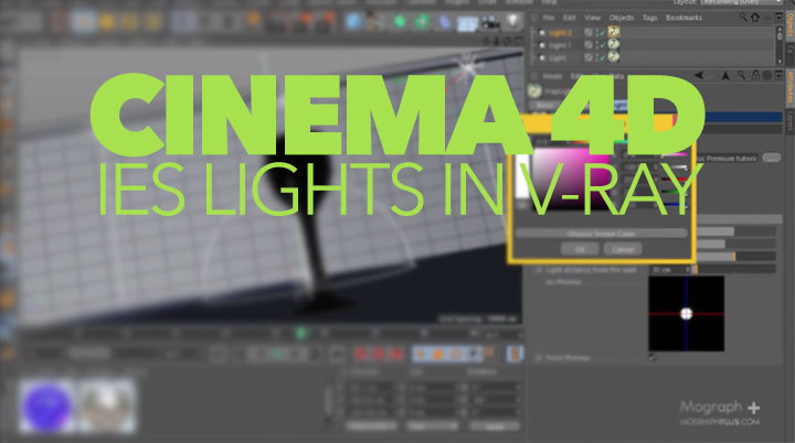 Learn How To Use IES Lights in VrayForC4D - Lesterbanks