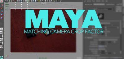 JoshCam, Free Maya Camera Rig Incorporates Best Features