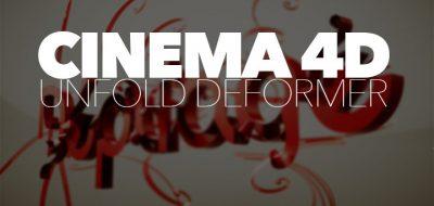 cinema 4d unfolding paper plugin Archives - Lesterbanks