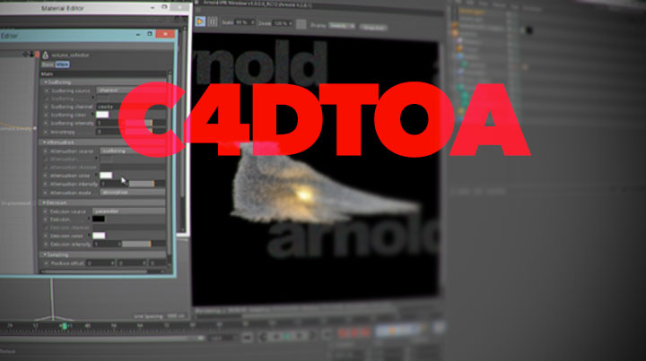 C4DtoA, Getting Started With Turbulence FD & X-Particle