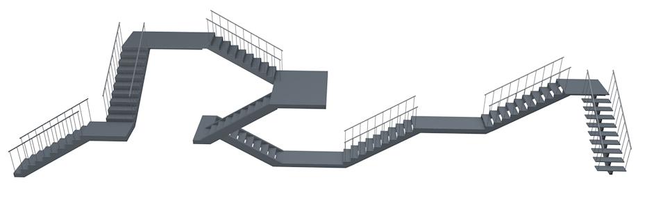Smart Stairs Cinema 4D