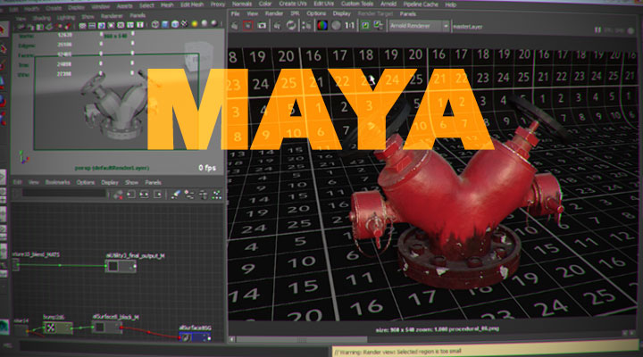 Use Python To Automate Camera Projection Setup in Maya