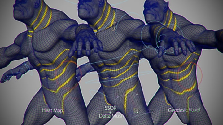 Check Out Webber Huang's Deformation Learning Solver in Maya