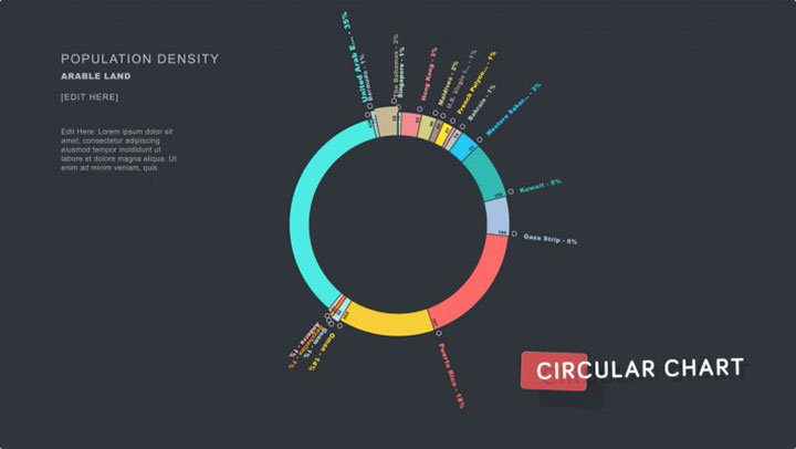 aeinfographics create animated infographic charts from data or