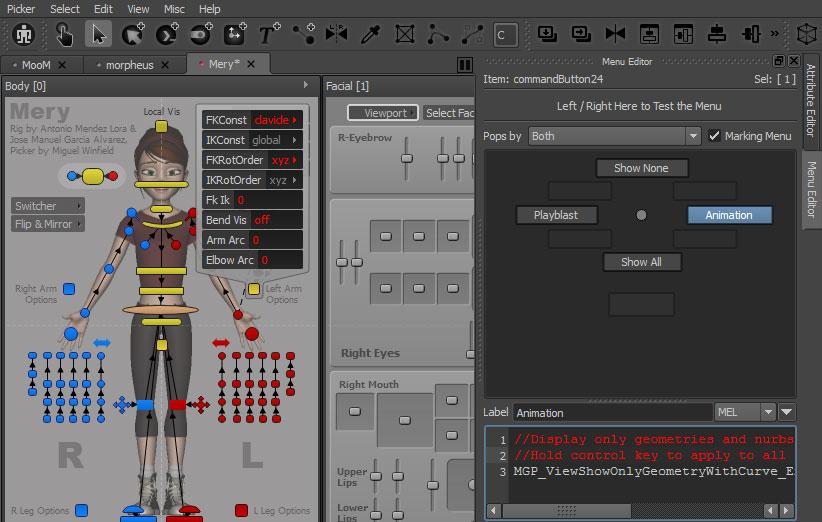 MG-Picker Studio Offers an Animator Friendly Picker Tool for