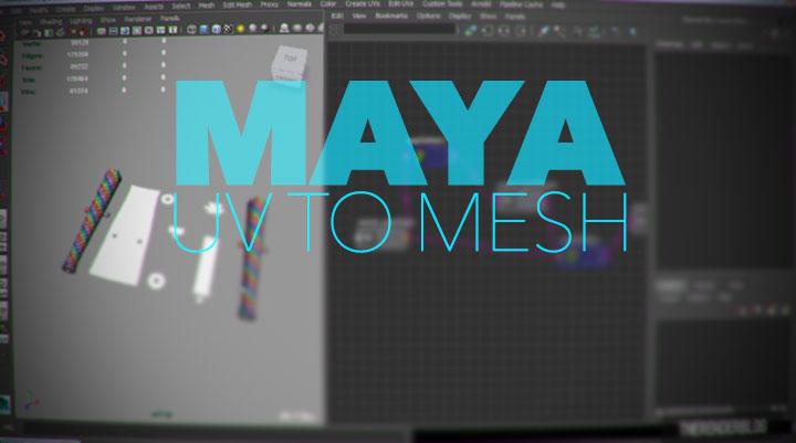 Edit UV's in Maya's 3D Space - Lesterbanks