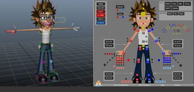 Manoanim Offers a Free Alien Character Rig for Maya