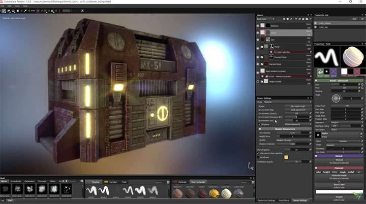 Substance Painter 1 5 Adds Export Presets for V-Ray - Lesterbanks