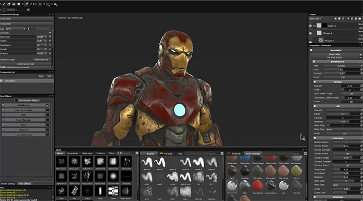 Working With Smart Materials in Substance Painter - Lesterbanks