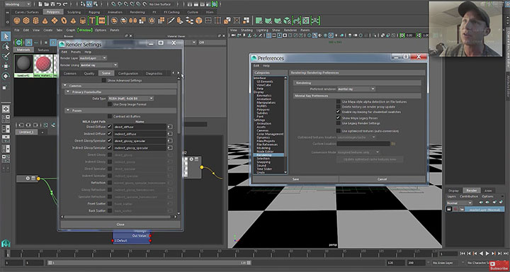 MILA Render Passes in Maya 2016 & How to Enable The Legacy