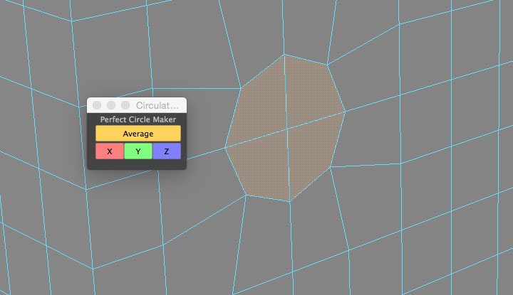 Circulator Script Create Circles from Component Selections
