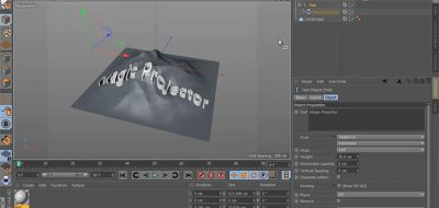 Projecting Splines on Curved Surfaces in C4D - Lesterbanks