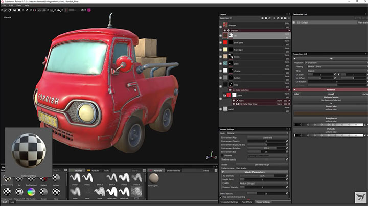 Car Paint Substance Painter