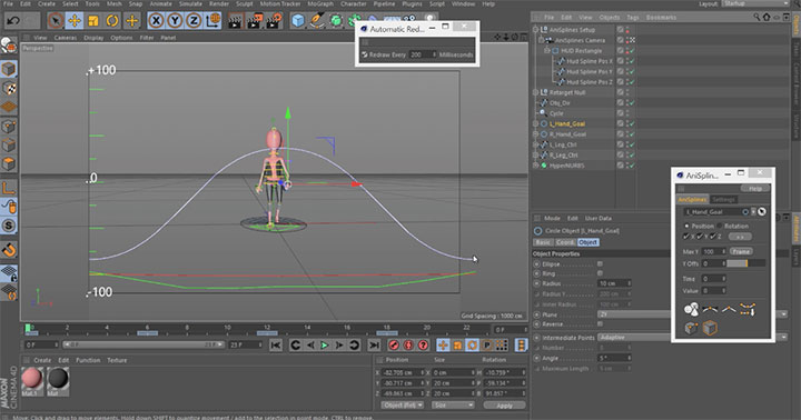 cinema 4d keyframe editor