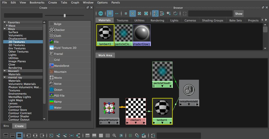 Enable Legacy Maya HyperShade Mode in Maya 2016