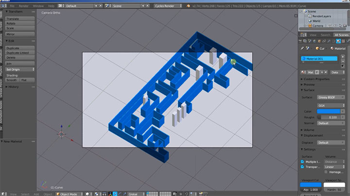 Working With SVG in Blender - Lesterbanks