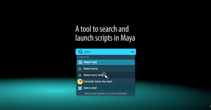 Cosmos for Maya Will Offer a Command Search for All Your