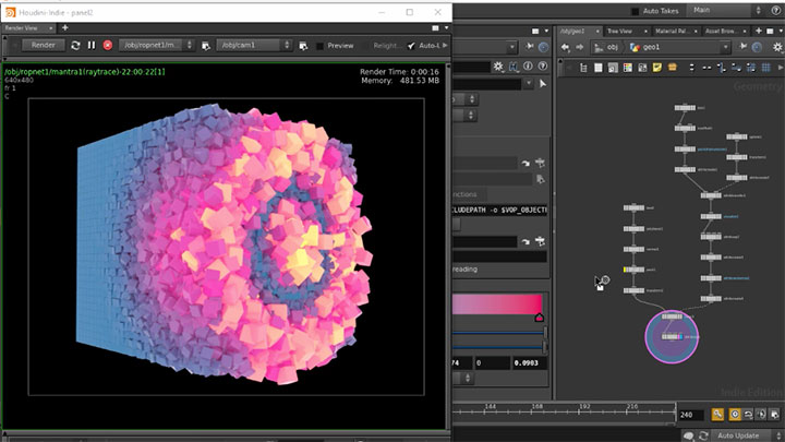 What It Takes to Rebuild C4D's MoGraph Cloner in Houdini - Lesterbanks
